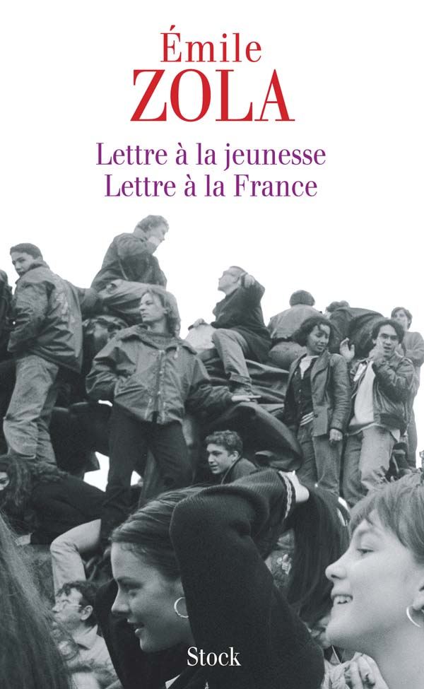 zola lettre à la jeunesse Lettre à la jeunesse   Lettre à la France, Émile Zola | Stock zola lettre à la jeunesse