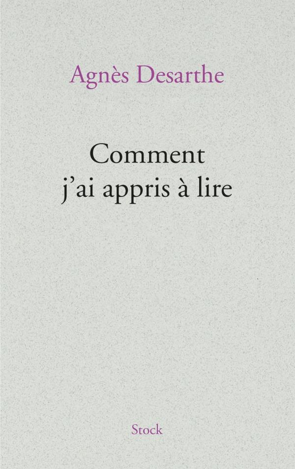 COMMENT J'AI APPRIS A LIRE