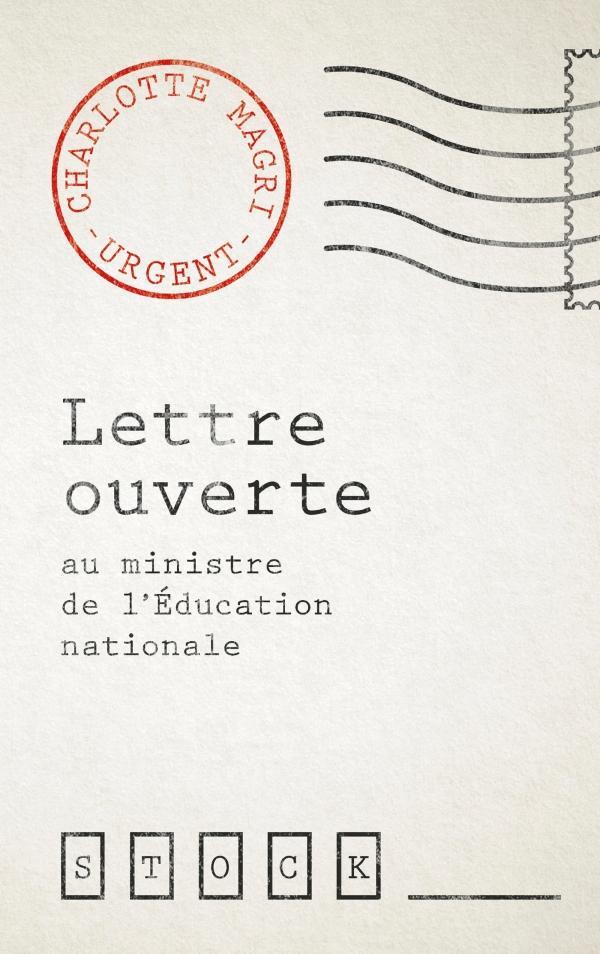 Lettre ouverte au ministre de l'éducation