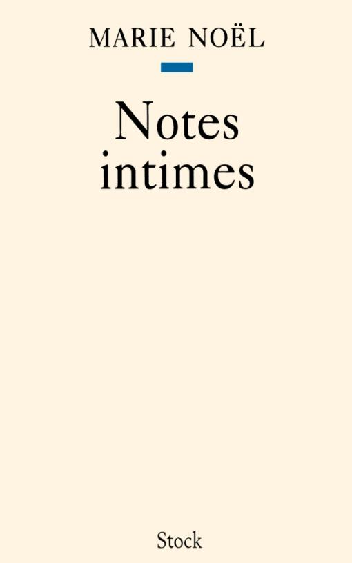 Notes intimes