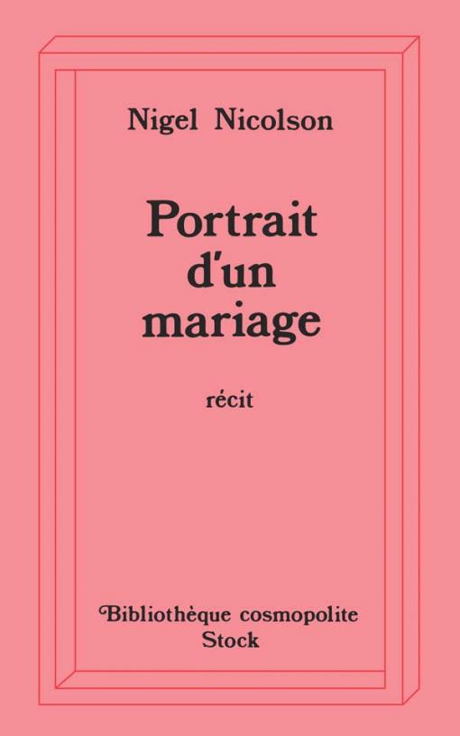 Portrait d'un mariage