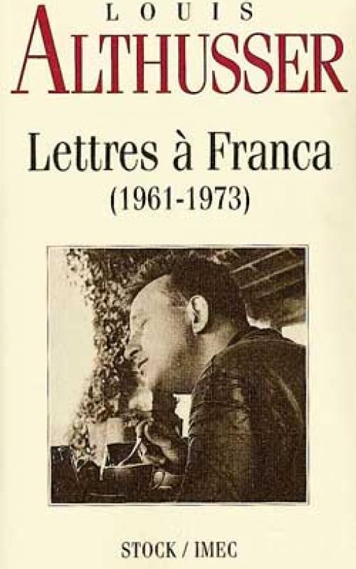 Lettres à Franca