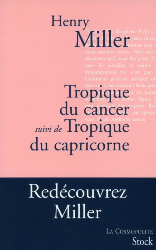 Tropique du Cancer suivi de Tropique du Capricorne