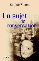 Un sujet de conversation